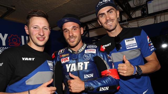 YART Yamaha on pole at the Bol d'Or