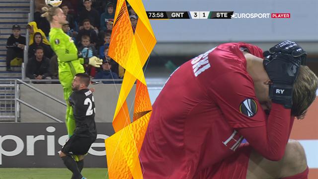 Flotte selvmål og forfærdelige drop: Se sjove aktioner fra 1. runde af Europa League