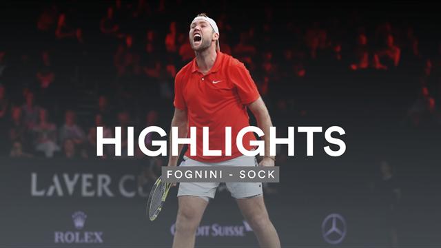 Nach langer Verletzungspause: Sock gegen Fognini mit furiosem Comeback