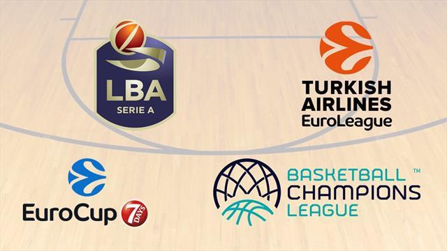 Torna il grande basket LIVE su Eurosport Player: tutta la Serie A, Eurolega, Eurocup e Champions!