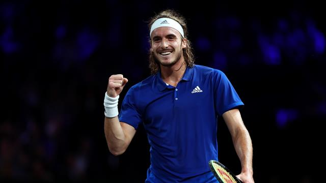 Stefanos Tsitsipas gives Team Europe Laver Cup advantage after beating Taylor Fritz