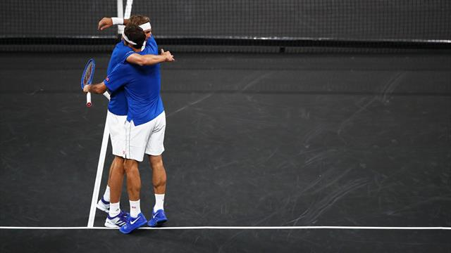 Federer and Zverev beat Shapovalov and Sock to seal European advantage