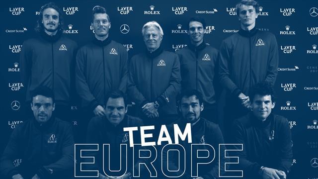 Qui est le plus en retard, distrait ou drôle du Team Europe? Federer et sa bande balancent les noms!
