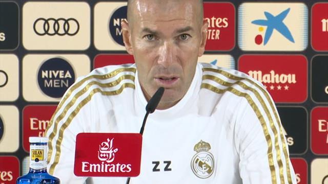 "Zidane : ""Se remettre au travail"""