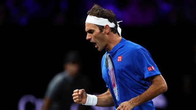 Highlights: Federer fights back to see off Kyrgios