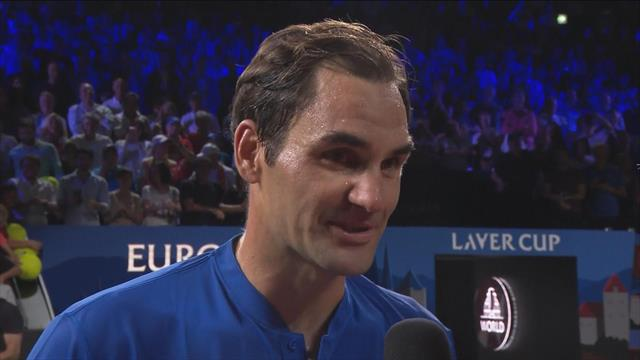 'I'll need earplugs next time!' – Federer chuffed by home crowd