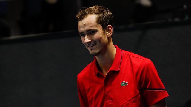 Toujours sur son nuage, Medvedev s'offre sa 5e finale consécutive