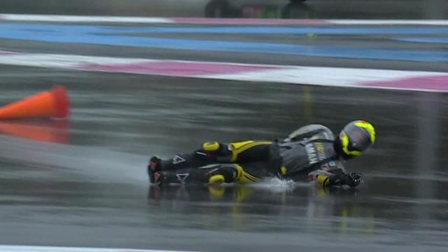Piégée par la pluie, la moto 101 a eu droit à un abandon déchirant