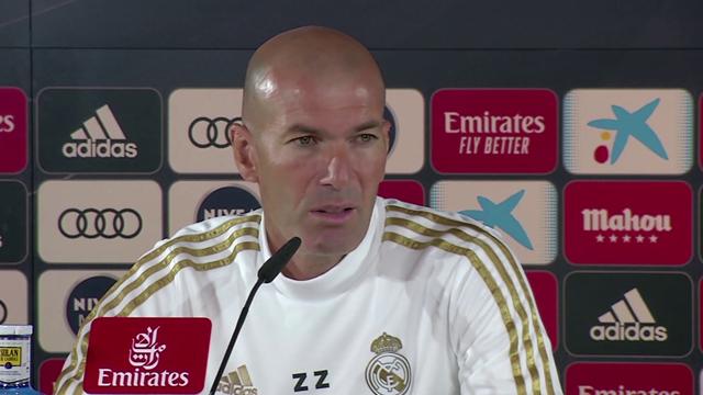 """LaLiga, Zidane: """"En momentos difíciles yo lo voy a intentar siempre"""""""