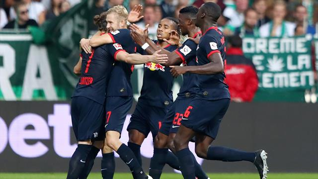 Leipzig punit Brême et reste en tête