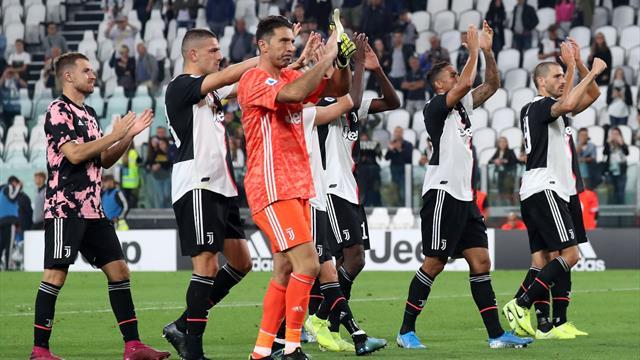 Le pagelle di Juventus-Hellas Verona 2-1: Buffon decisivo, male Demiral e Bentancur