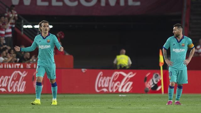 Messi und Co. patzen: Barcelona verliert auch gegen Aufsteiger Granada