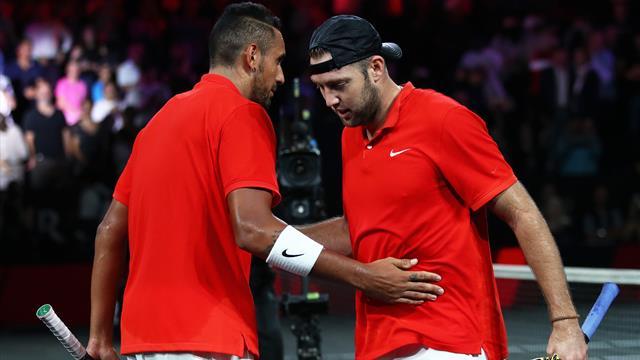 Highlights - Sock and Kyrgios down Nadal and Tsitsipas
