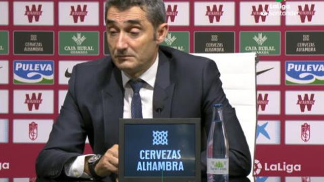 """5e j. - Valverde: """"Je suis responsable pour la défaite"""""""