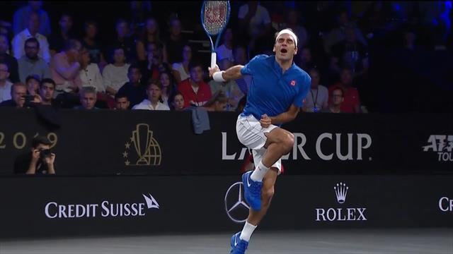 Voll auf die Zwölf! Sock serviert König Federer in die Kronjuwelen