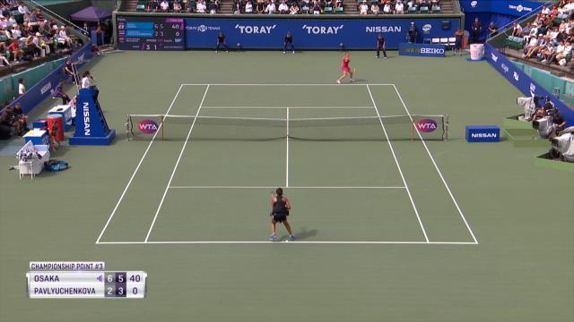 Naomi Osaka triomphe à la maison
