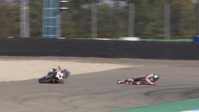 British Superbikes: Bridewell e Iddon sufren el mismo accidente casi al mismo tiempo