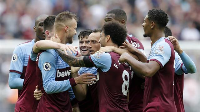 Hammers down sorry United to move into top four
