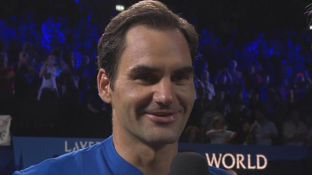 Roger Federer reveals he lost his voice thanks to crazy reaction win against Isner