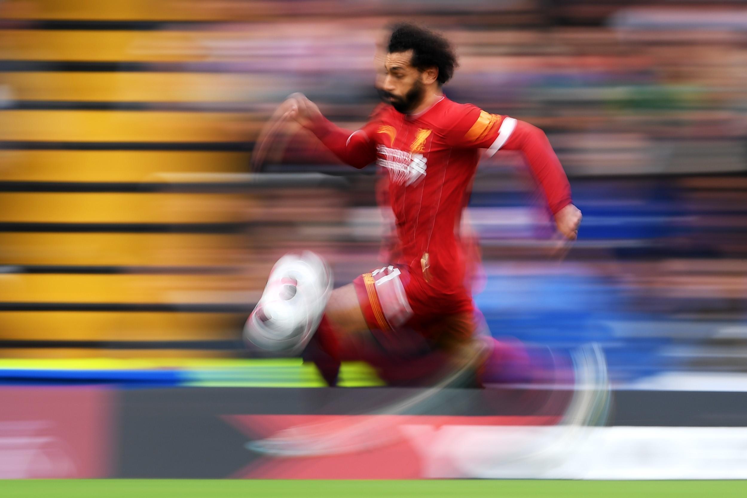 Mo Salah is 'The Flash'