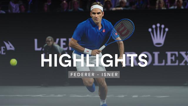 Team Europa schlägt zurück: Federer erkämpft Entscheidungsmatch gegen Isner
