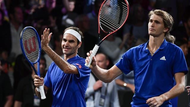 Gemeinsames Event in China? Federer und Zverev planen wohl Großes