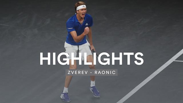Sieg im entscheidenden Match: Zverev triumphiert mit Willensleistung über Raonic