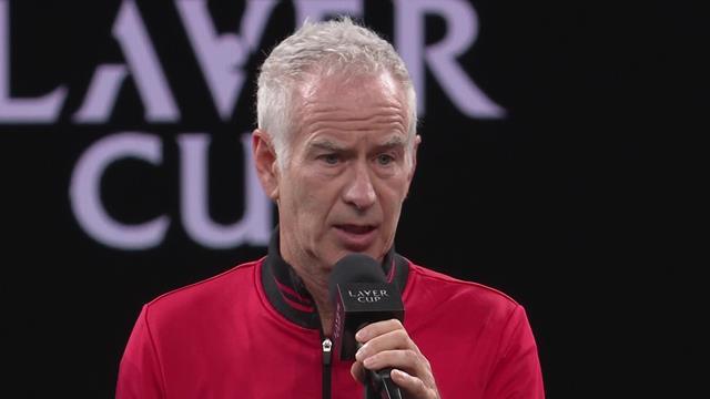 John McEnroe tells Team Europe: 'I am getting very sick and tired of you'
