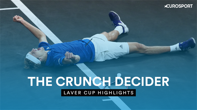 Highlights: Zverev beats Raonic to win Laver Cup for Europe