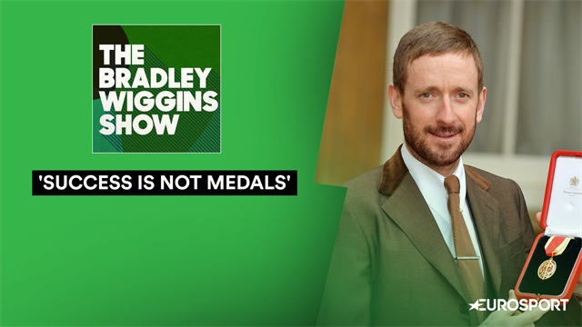 Wiggins: I don't need medals for my self-worth or ego