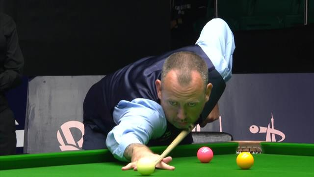Mark Williams dispatches long-range red