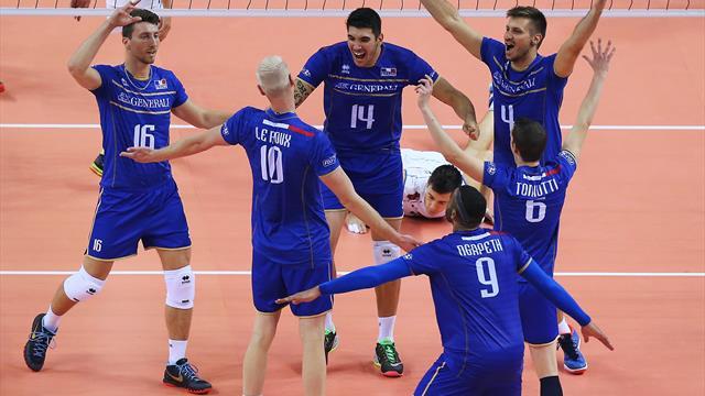 2003 et 2015, deux France-Italie dans la légende du volley tricolore