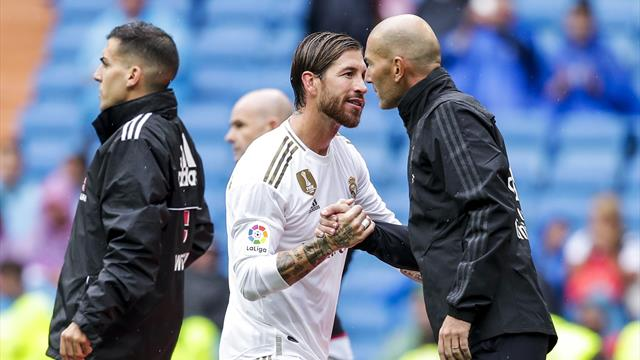 Zidane supports Ramos' Olympic dream