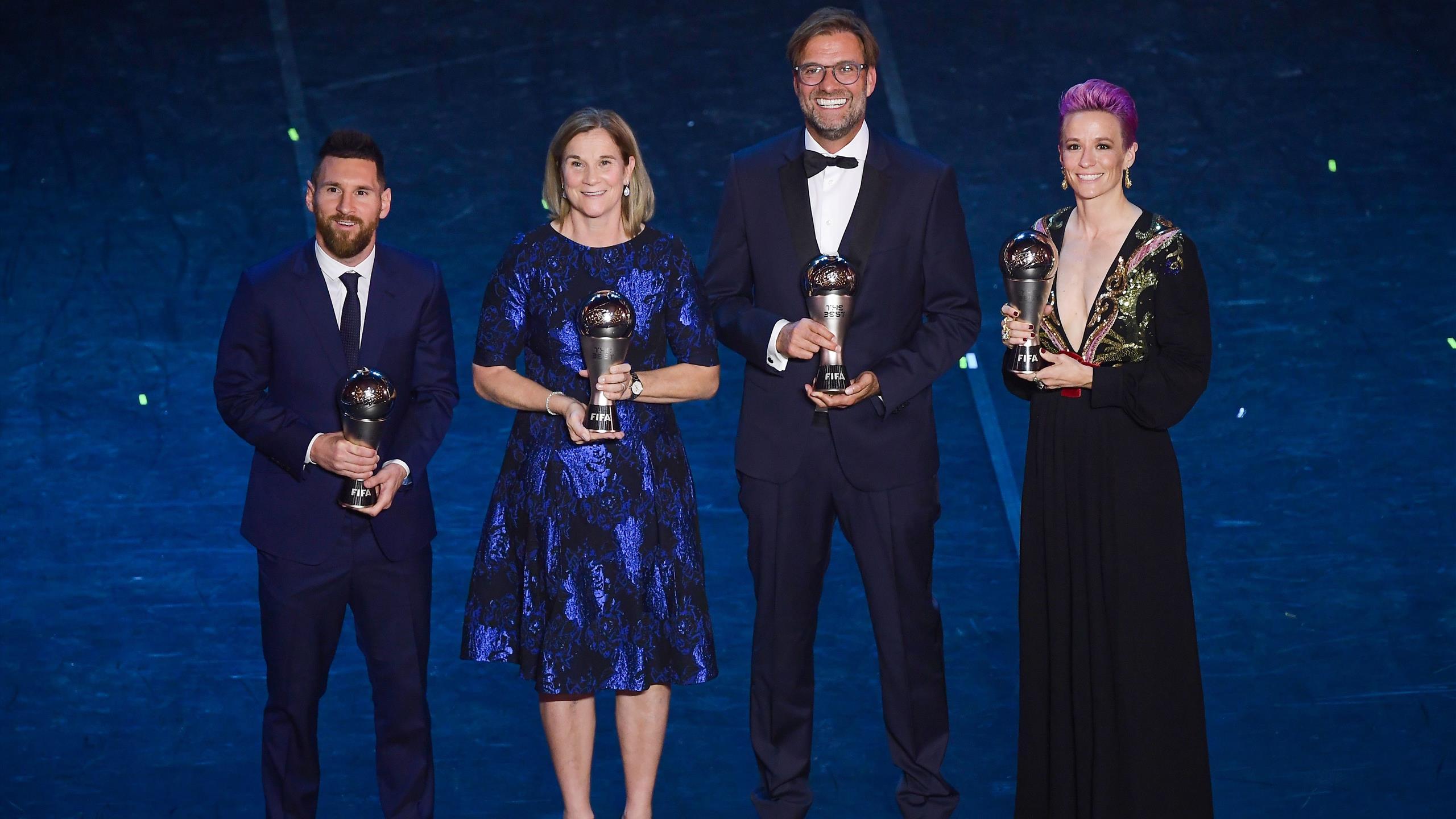 The Best Fifa Football Awards How The Awards Unfolded As Messi Beats Van Dijk To Men S Prize Eurosport