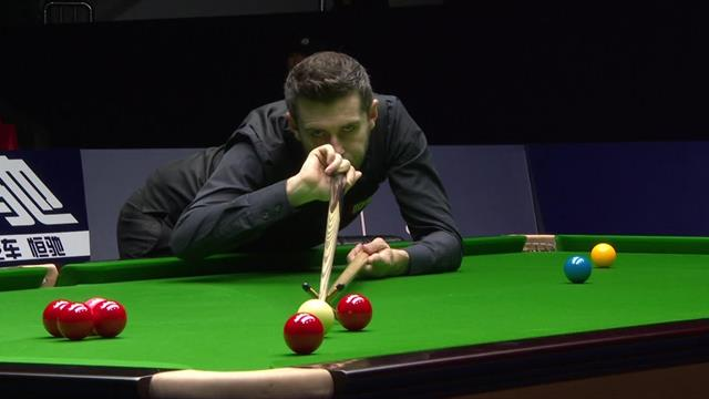 Mark Selby takes control of Lu Ning encounter with century break