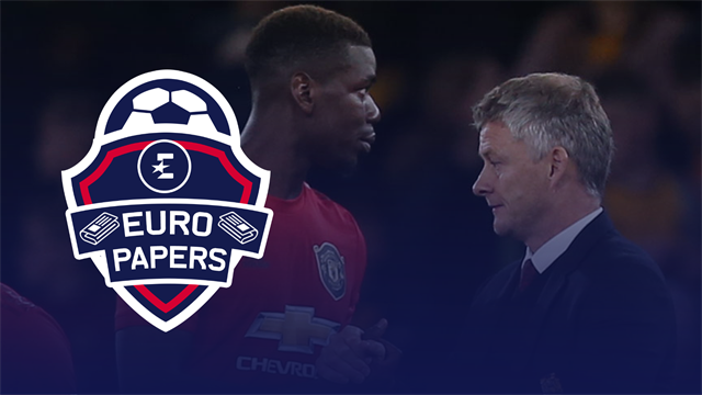 Euro Papers: Solskjaer sacking = Pogba move to Real