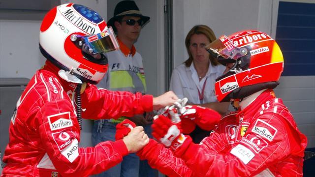 """Barrichello : """"Hamilton a probablement plus de talent que Schumacher et Senna"""""""
