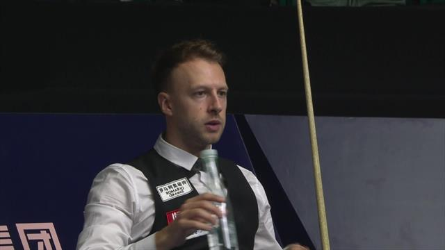 'Tremendous' clearance sees Trump open three-frame lead over Dunn