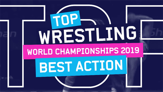 Top 5: Wrestling moves from the 2019 World Championships