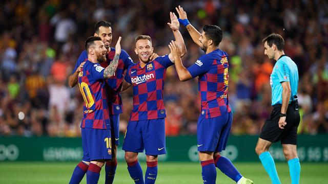 Getafe-Barcelona, en directo online (16:00)