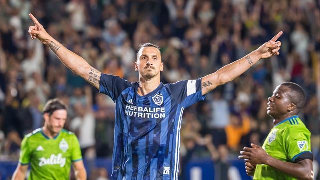 Avec un but et une passe décisive, Ibrahimovic envoie le Galaxy en playoffs