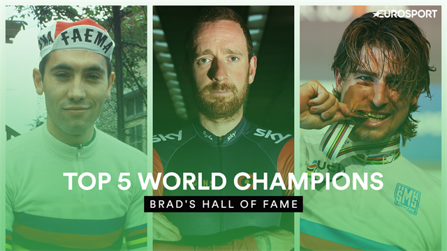 Brad's Hall of Fame - Wiggins names his top 5 World Champions