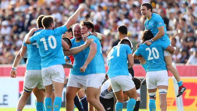 Le favole esistono! Clamorosa vittoria dell'Uruguay contro le Figi, finisce 30-27
