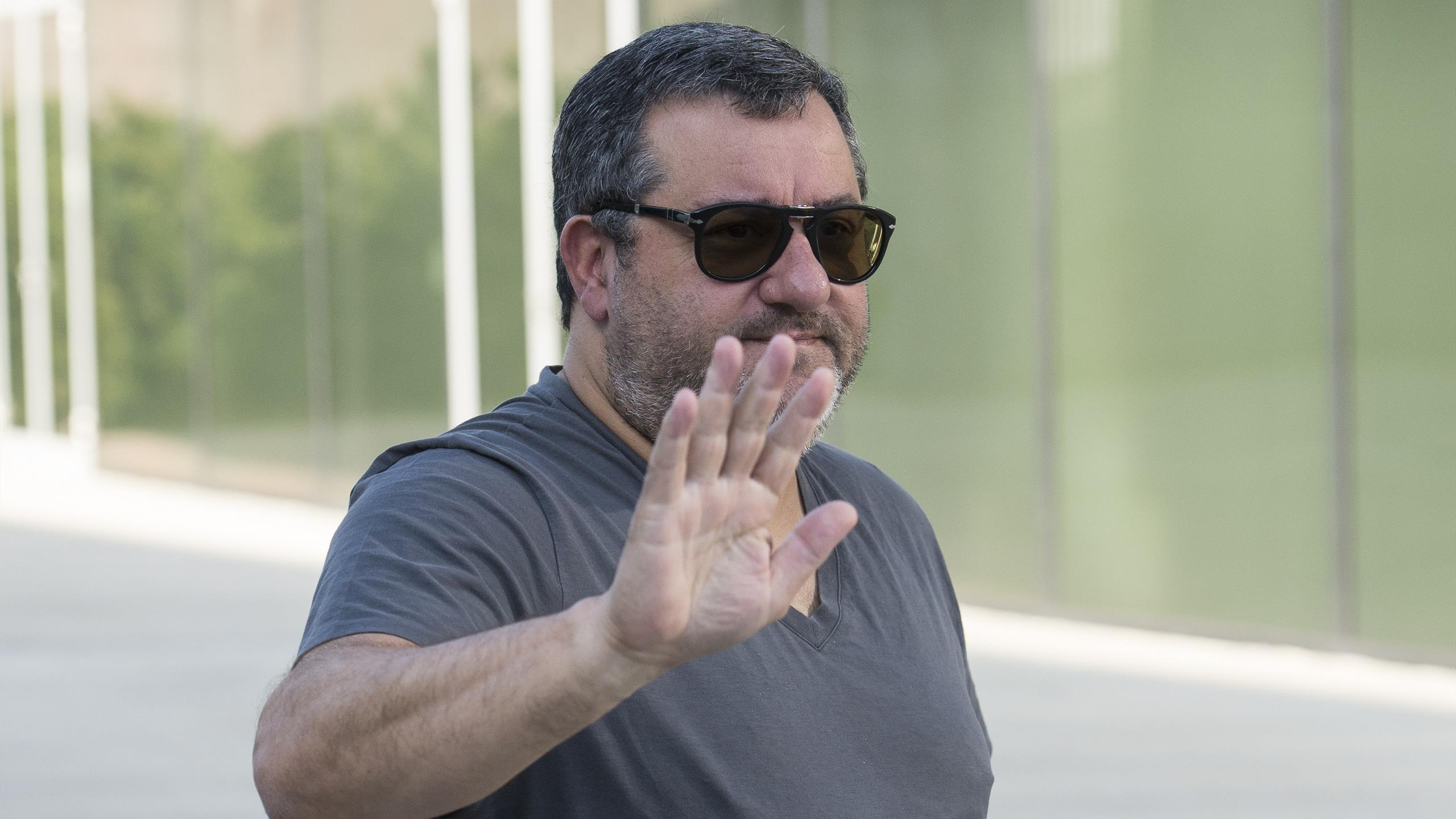 L'agent de joueur de foot italien Mino Raiola