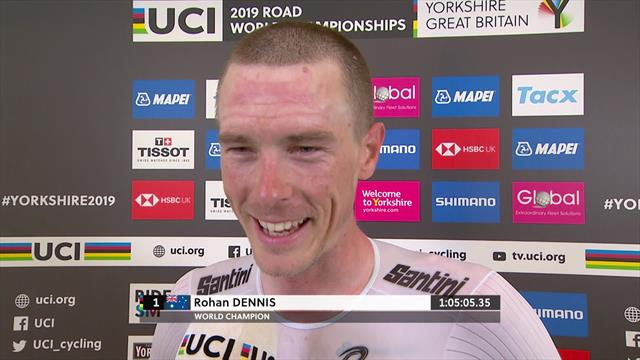 'I'm still here to win' - Dennis revels in perfect day in ITT after 'tough year'
