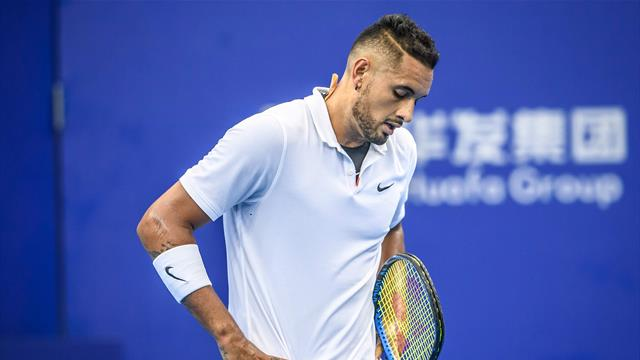 Kyrgios hit with 16-week suspended ban, additional fine for 'aggravated behaviour'