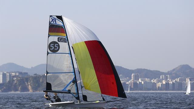 Deutsche Segler gewinnen zwei Medaillen im Olympiarevier