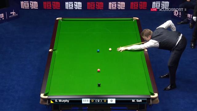 'You will not see a better break than that' - Murphy magic