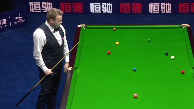 Murphy wins frame with crazy fluke in China