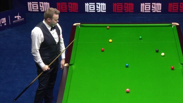 China Championship: Genial (y muy afortunado) golpe de Murphy a tres bandas